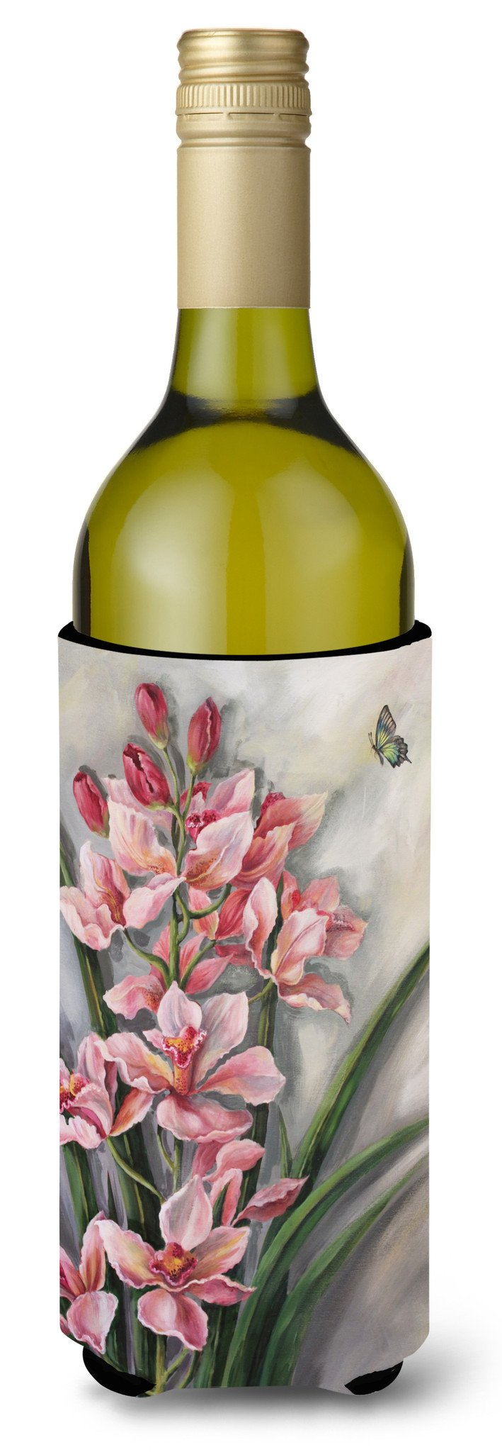Buy this Orchids by Judith Yates Wine Bottle Beverage Insulator Hugger JYJ0071LITERK