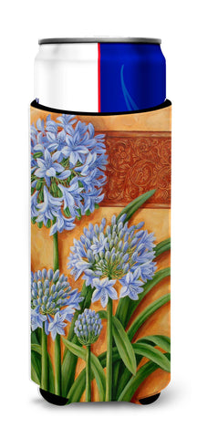 Buy this Agapanthus by Judith Yates Ultra Beverage Insulators for slim cans JYJ0072MUK