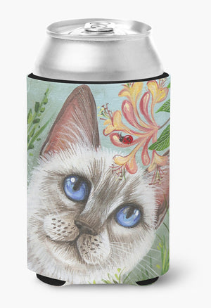 Buy this White Cat Saphire Eyes Can or Bottle Hugger JYJ0173CC