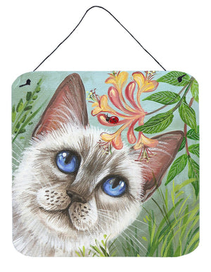 Buy this White Cat Saphire Eyes Wall or Door Hanging Prints JYJ0173DS66