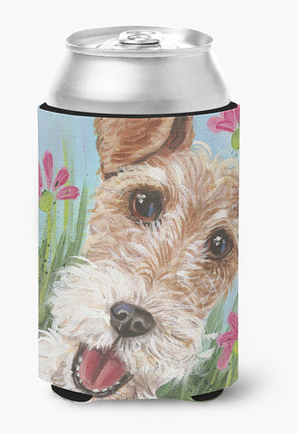Buy this Fox Terrier by Judith Yates Can or Bottle Hugger JYJ0178CC