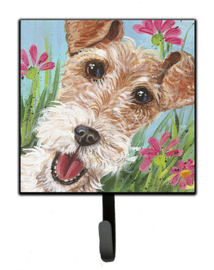 Buy this Fox Terrier by Judith Yates Leash or Key Holder JYJ0178SH4
