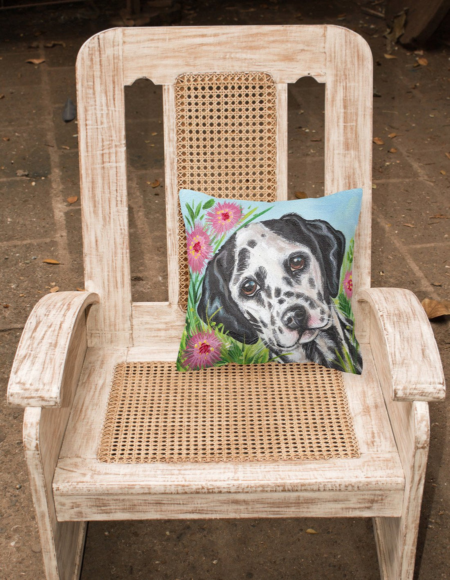 Buy this Dalmatian by Judith Yates Canvas Decorative Pillow JYJ0191PW1414