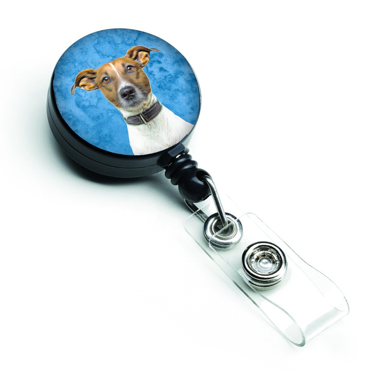 Jack Russell Terrier Retractable Badge Reel KJ1226BU-BR by Caroline's Treasures
