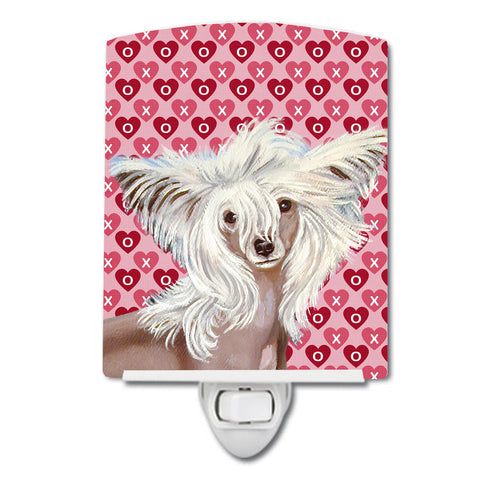 Buy this Chinese Crested Hearts Love and Valentine's Day Portrait Ceramic Night Light LH9167CNL