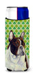 Buy this French Bulldog St. Patrick's Day Shamrock Portrait Ultra Beverage Insulators for slim cans LH9202MUK