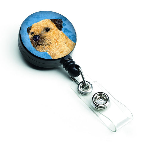 Buy this Blue Border Terrier Retractable Badge Reel LH9368BUBR