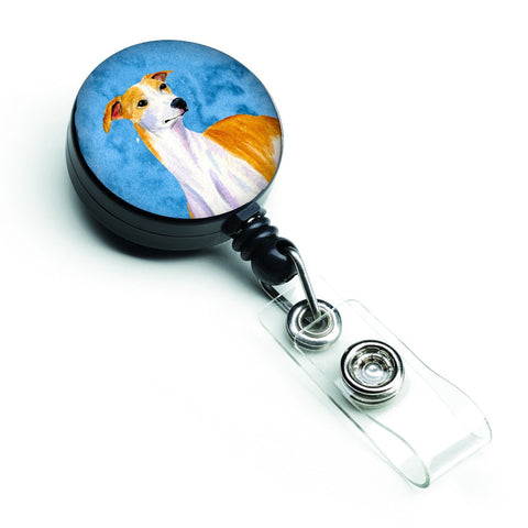 Buy this Blue Whippet Retractable Badge Reel LH9373BUBR