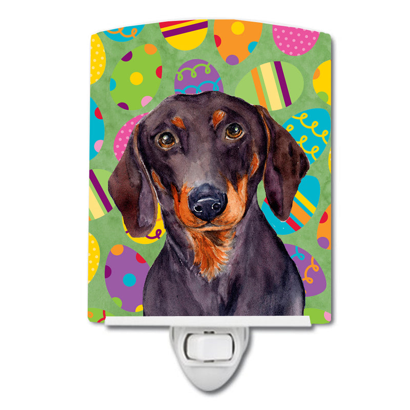 Buy this Dachshund Easter Eggtravaganza Ceramic Night Light LH9403CNL