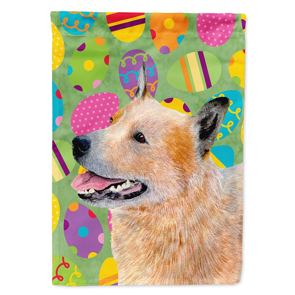 Australian Cattle Dog Easter Eggtravaganza Flag Garden Size by Caroline's Treasures
