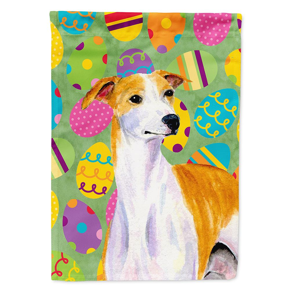 Buy this Whippet Easter Eggtravaganza Flag Garden Size