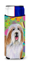 Bearded Collie Easter Eggtravaganza Ultra Beverage Insulators for slim cans LH9420MUK by Caroline's Treasures