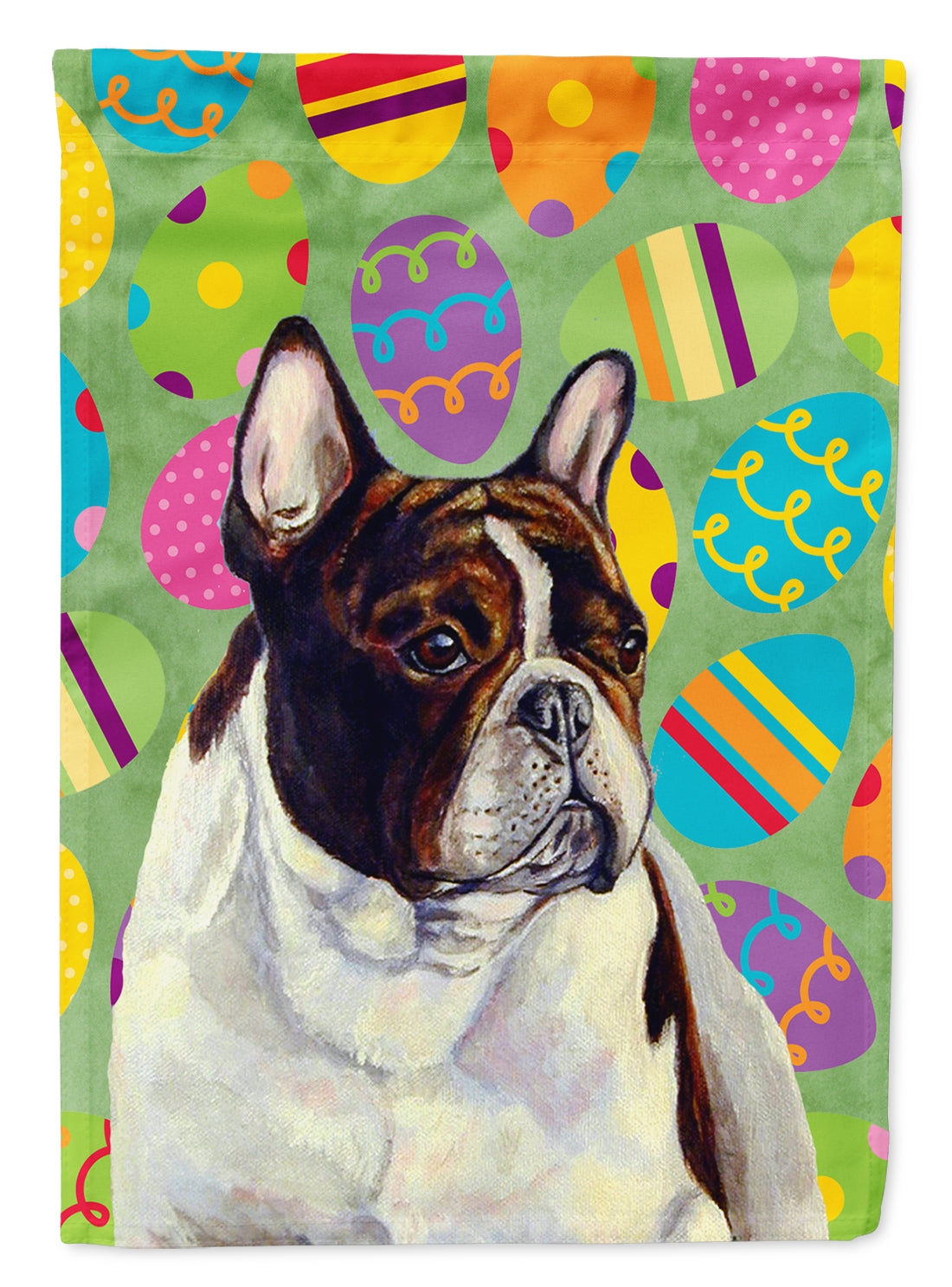 French Bulldog Easter Eggtravaganza Flag Garden Size by Caroline's Treasures