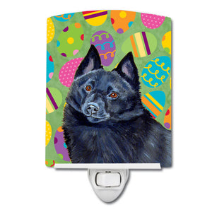 Buy this Schipperke Easter Eggtravaganza Ceramic Night Light LH9429CNL