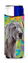 Weimaraner Easter Eggtravaganza Ultra Beverage Insulators for slim cans LH9431MUK by Caroline's Treasures