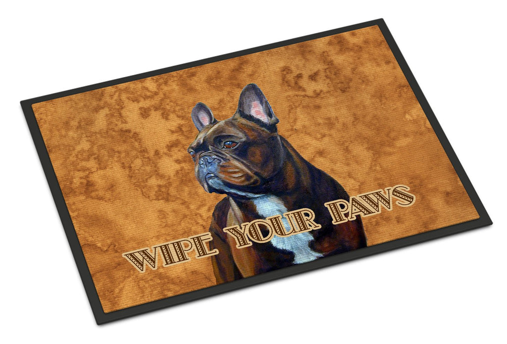 Buy this French Bulldog Wipe your Paws Indoor or Outdoor Mat 18x27 LH9455MAT