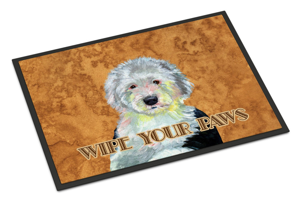 Buy this Old English Sheepdog Wipe your Paws Indoor or Outdoor Mat 18x27 LH9457MAT