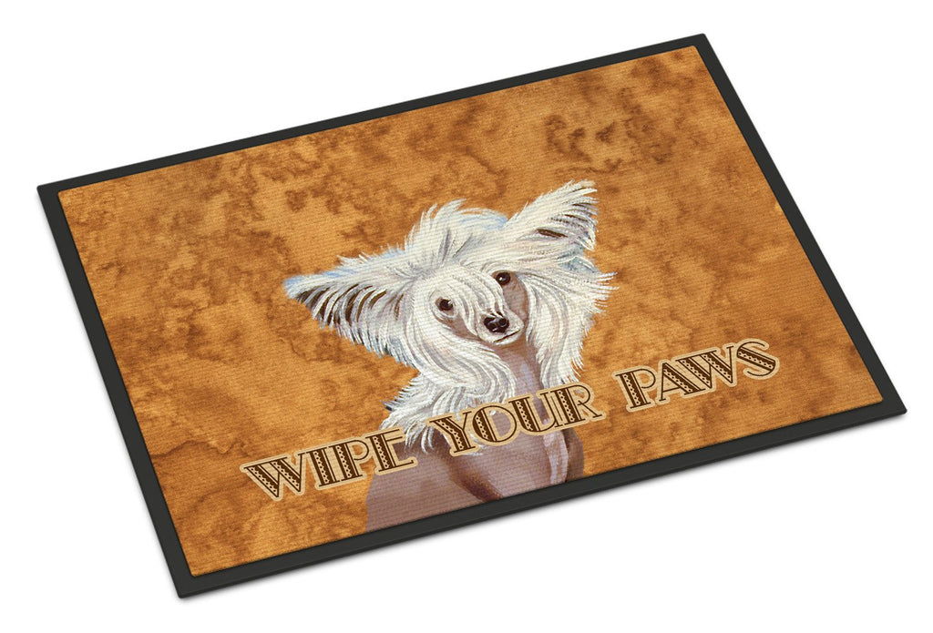Buy this Chinese Crested Wipe your Paws Indoor or Outdoor Mat 24x36 LH9459JMAT