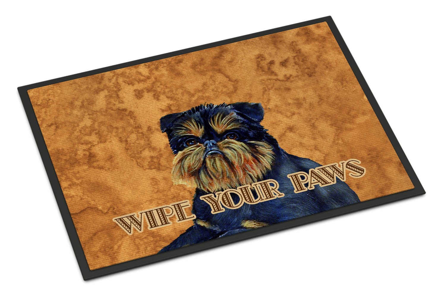 Brussels Griffon Wipe your Paws Indoor or Outdoor Mat 18x27 LH9462MAT by Caroline's Treasures