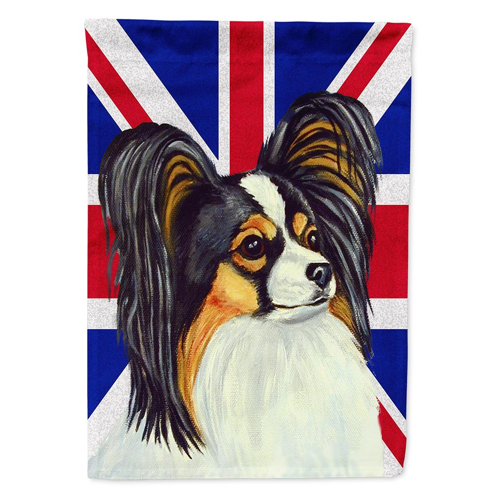 Buy this Papillon with English Union Jack British Flag Flag Garden Size LH9503GF