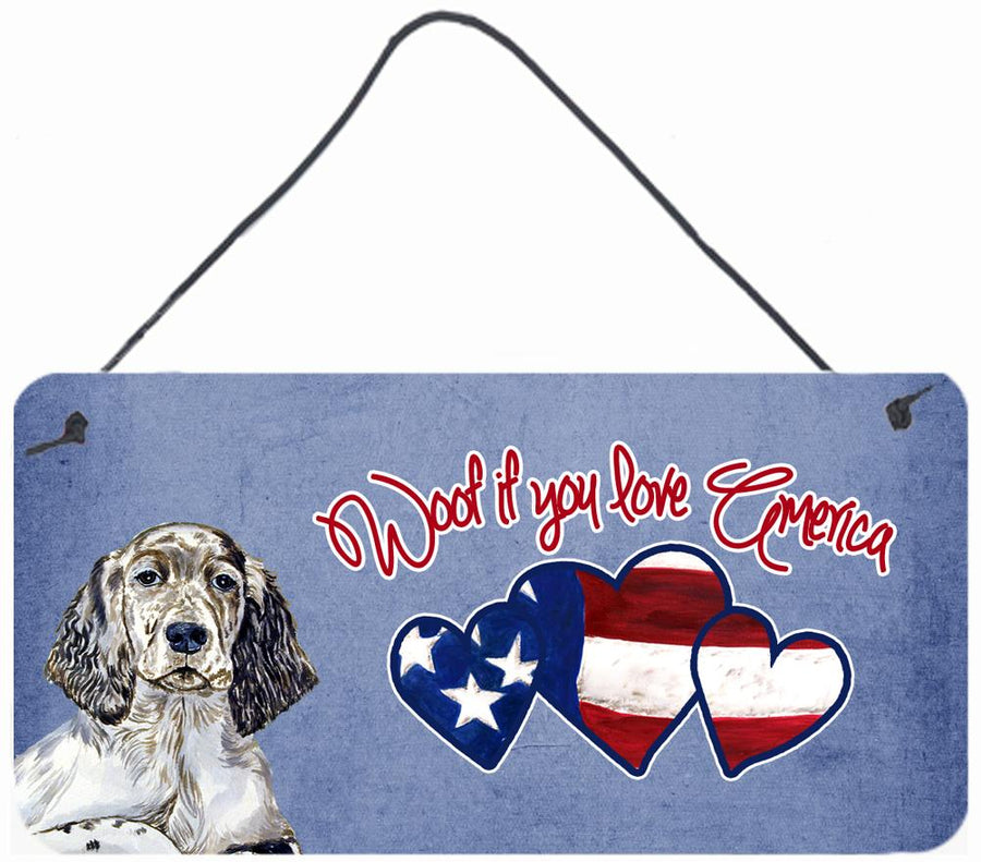 Buy this Woof if you love America English Setter Wall or Door Hanging Prints LH9533DS612