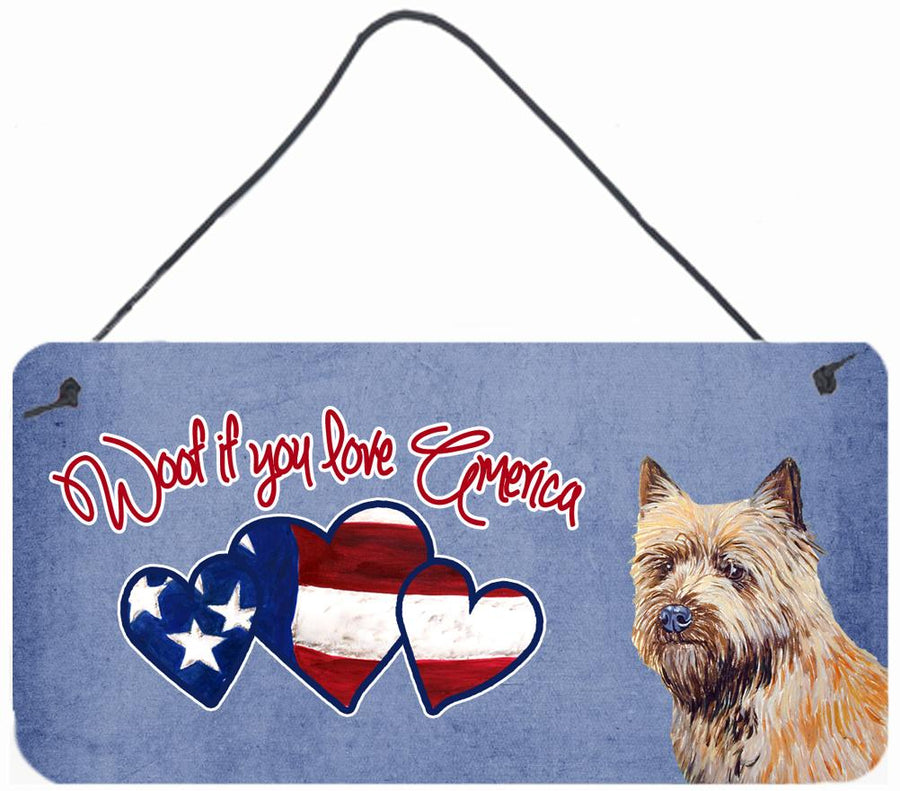Buy this Woof if you love America Cairn Terrier Wall or Door Hanging Prints LH9535DS612