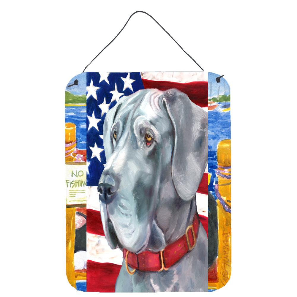Buy this Great Dane USA Patriotic American Flag Wall or Door Hanging Prints LH9542DS1216