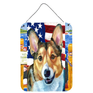 Buy this Corgi USA Patriotic American Flag Wall or Door Hanging Prints LH9546DS1216