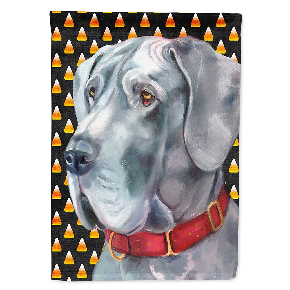 Buy this Great Dane Candy Corn Halloween Flag Garden Size