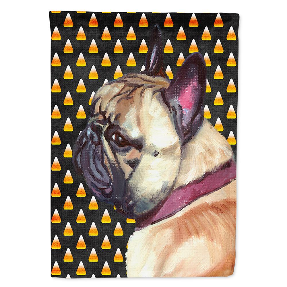 French Bulldog Frenchie Candy Corn Halloween Flag Garden Size LH9552GF by Caroline's Treasures