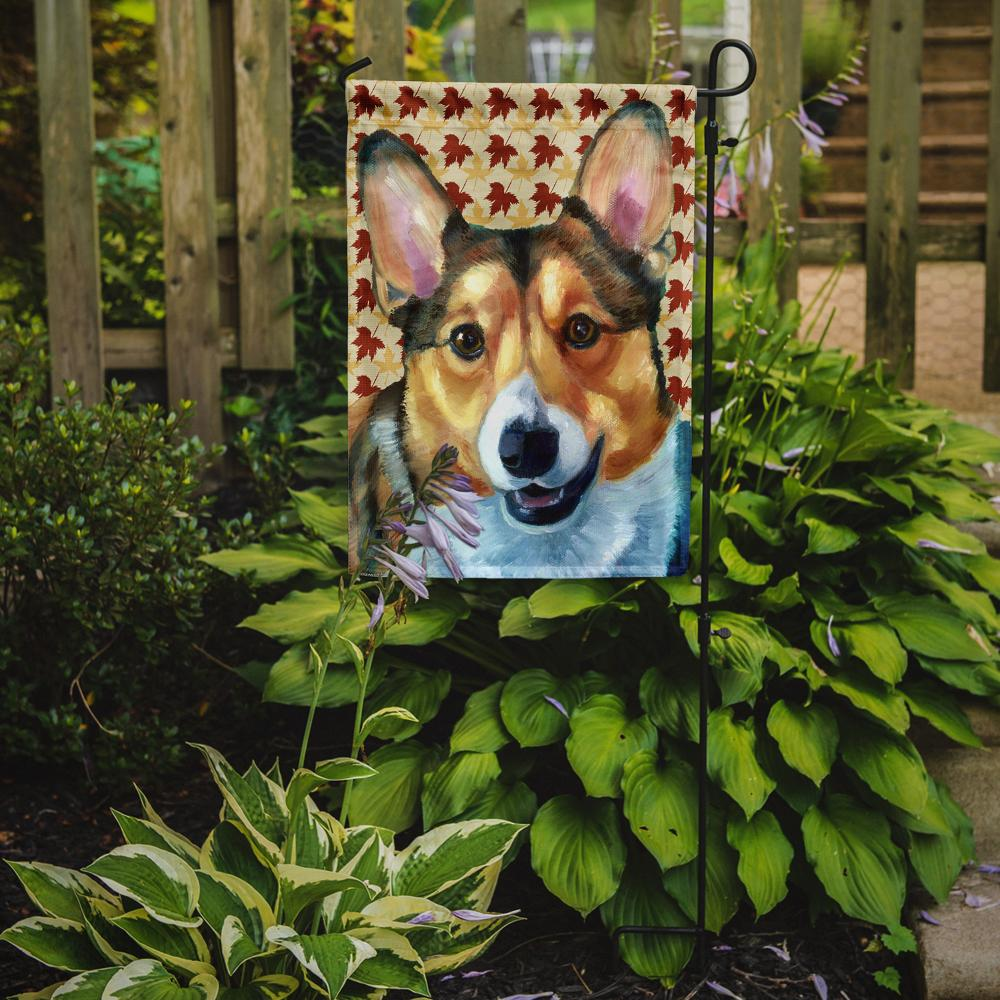 Corgi Fall Leaves Flag Garden Size LH9560GF by Caroline's Treasures