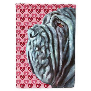 Buy this Neapolitan Mastiff Hearts Love and Valentine's Day Flag Garden Size