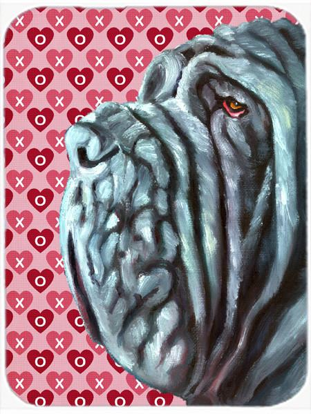 Neapolitan Mastiff Hearts Love and Valentine's Day Mouse Pad, Hot Pad or Trivet LH9561MP by Caroline's Treasures