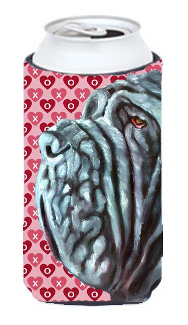 Neapolitan Mastiff Hearts Love and Valentine's Day Tall Boy Beverage Insulator Hugger LH9561TBC by Caroline's Treasures