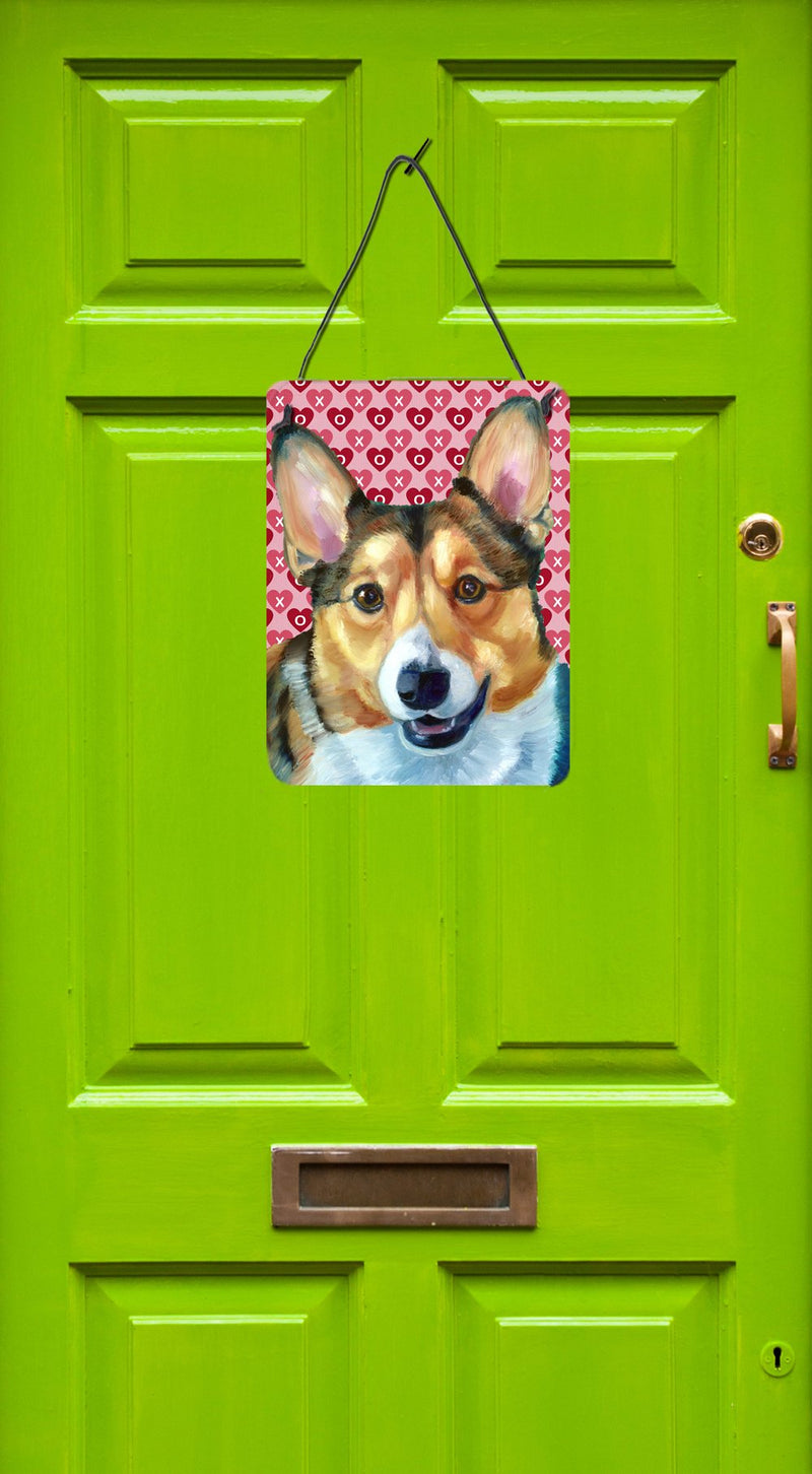 Buy this Corgi Hearts Love and Valentine's Day Wall or Door Hanging Prints LH9567DS1216