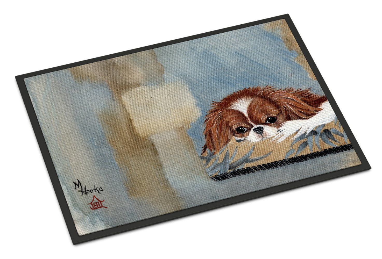 Buy this Japanese Chin Resting Indoor or Outdoor Mat 18x27 MH1010MAT