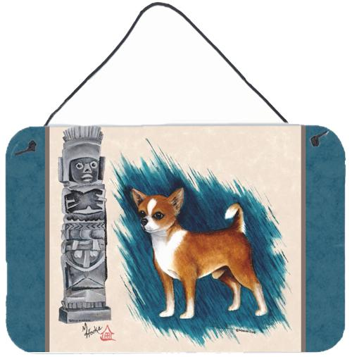 Chihuahua Totem Wall or Door Hanging Prints MH1011DS812 by Caroline's Treasures