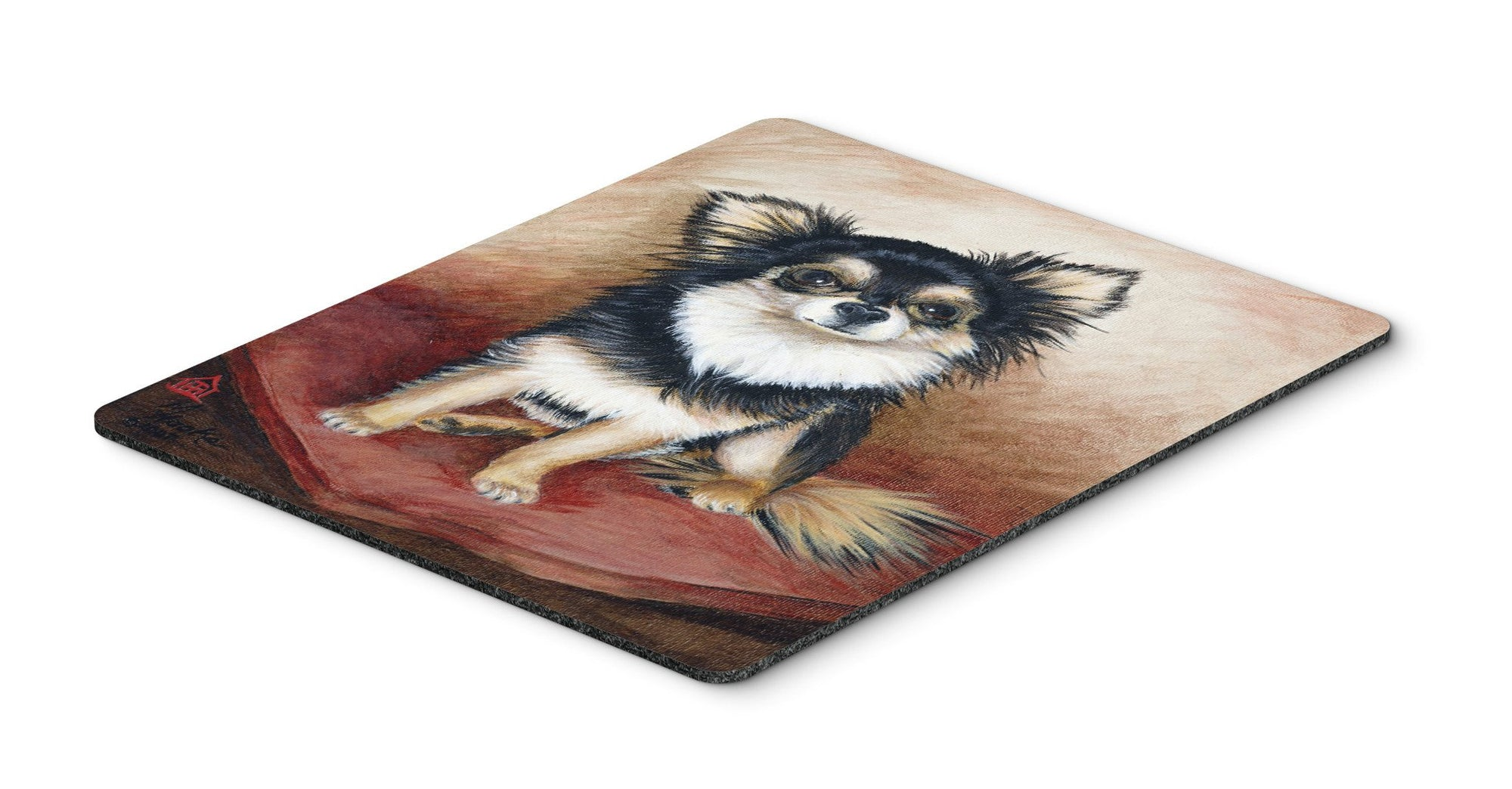 Chihuahua Long Hair Mouse Pad, Hot Pad or Trivet MH1035MP by Caroline's Treasures