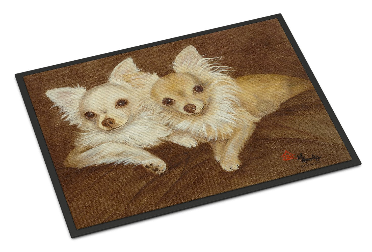 Chihuahua For the Pair Indoor or Outdoor Mat 18x27 MH1042MAT - the-store.com