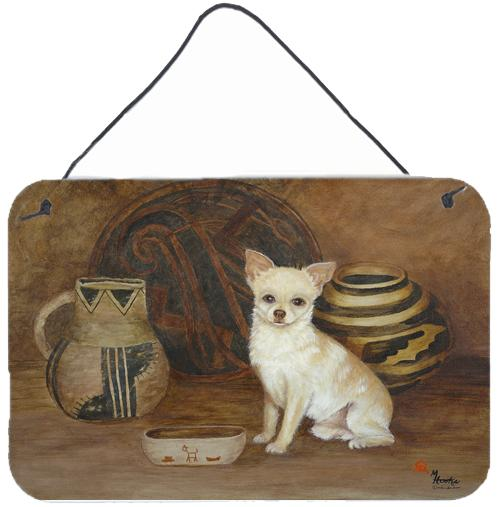 Chihuahua Ancient History Wall or Door Hanging Prints MH1043DS812 by Caroline's Treasures