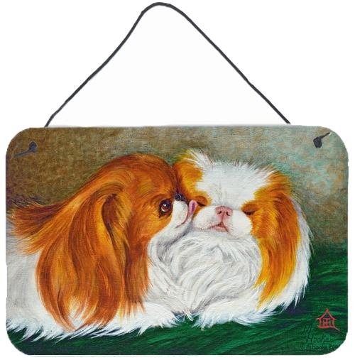 Japanese Chin Best Friends Wall or Door Hanging Prints by Caroline's Treasures