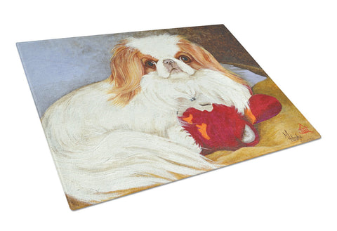 Buy this Japanese Chin Pink Gorilla Glass Cutting Board Large MH1049LCB