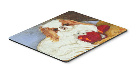Buy this Japanese Chin Pink Gorilla Mouse Pad, Hot Pad or Trivet MH1049MP