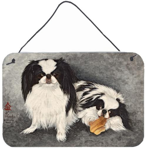 Japanese Chin Impress Wall or Door Hanging Prints MH1050DS812 by Caroline's Treasures