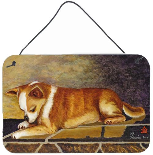Chihuahua I See Me Wall or Door Hanging Prints MH1052DS812 by Caroline's Treasures