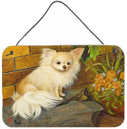 Chihuahua Just Basking Wall or Door Hanging Prints by Caroline's Treasures