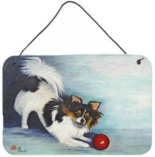 Chihuahua Play Ball Wall or Door Hanging Prints by Caroline's Treasures