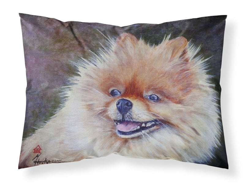 Buy this Pomeranian Head Fabric Standard Pillowcase MH1056PILLOWCASE