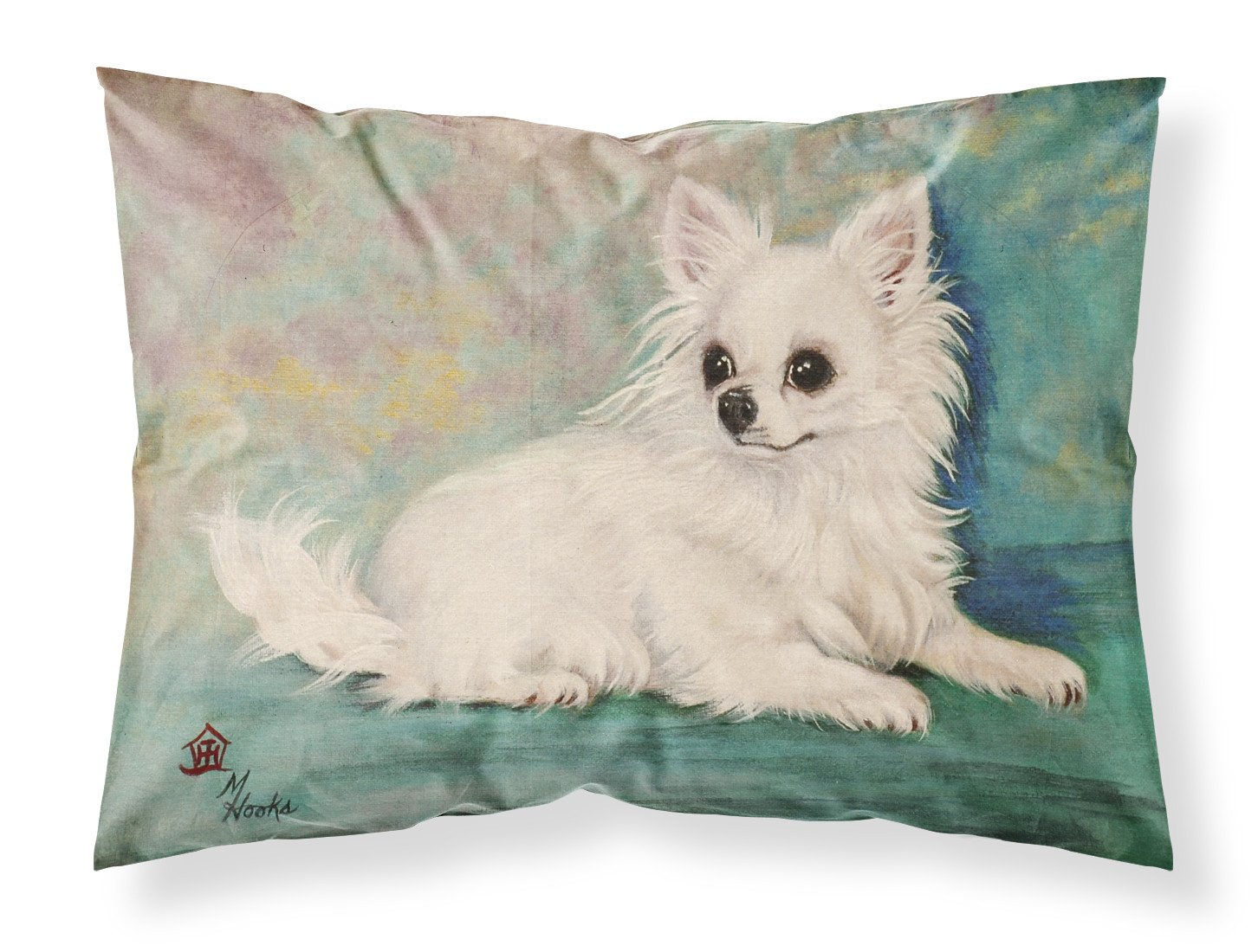Chihuahua Queen Mother Fabric Standard Pillowcase MH1057PILLOWCASE by Caroline's Treasures