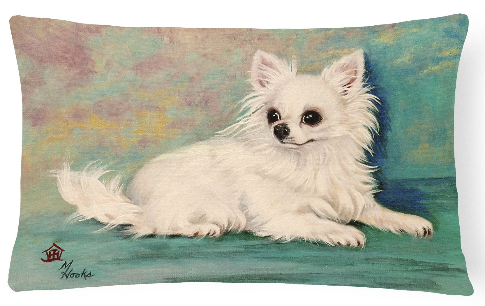 Chihuahua Queen Mother Fabric Decorative Pillow MH1057PW1216 by Caroline's Treasures